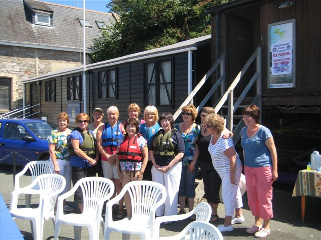 Jackie B and Soroptimists Kayaking 004