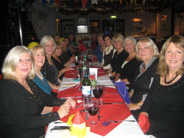 Soroptimists Xmas Party 2011